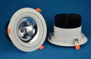 Встраиваемый поворотный светодиодный светильник PR-DL-R-60W